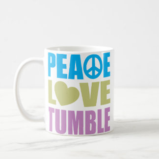 Peace Love Tumble Classic White Coffee Mug