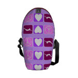 Peace Love Tumble Rickshaw Zero Mini Messenger Bag
