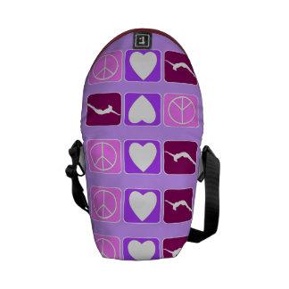 Peace Love Tumble Rickshaw Zero Mini Messenger Bag