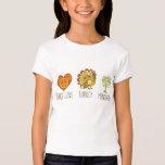 Peace Love Turkey Menorah T-Shirt