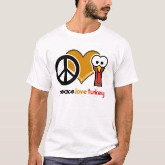 Peace Love Turkey T-Shirt