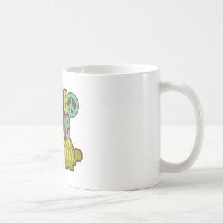 Peace Love Turtle Coffee Mug