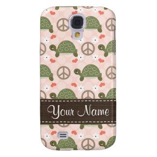 Peace Love Turtles  Samsung Galaxy S4 Case