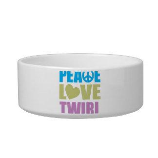 Peace Love Twirl Bowl