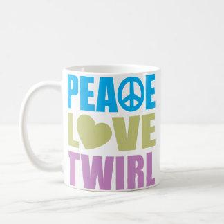 Peace Love Twirl Coffee Mug