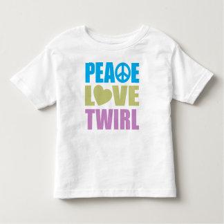 Peace Love Twirl Toddler T-shirt