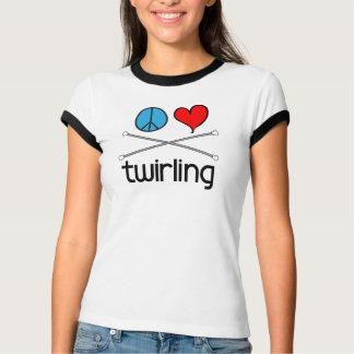 Peace Love Twirling T-Shirt