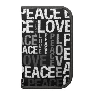 Peace Love Typography Planner