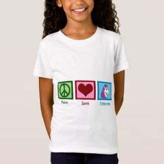 Peace Love Unicorns Kids T-Shirt