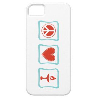 Peace Love Unitarianism Squares iPhone SE/5/5s Case