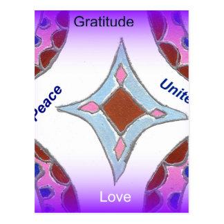 Peace Love Unity hakuna matata .png Post Card