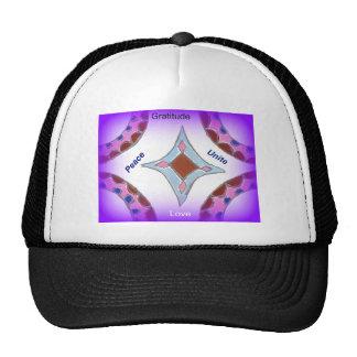 Peace Love Unity hakuna matata .png Trucker Hat