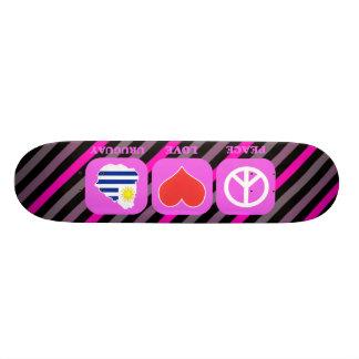 Peace Love Uruguay Skate Boards