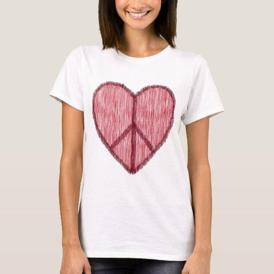 Peace, Love, Valentines T-Shirt