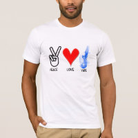 Peace Love Vape -2 T-Shirt