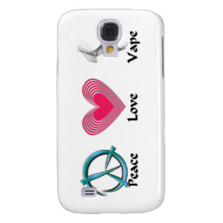 Peace Love Vape Samsung Galaxy S4 Case