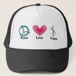Peace Love Vape Trucker Hat