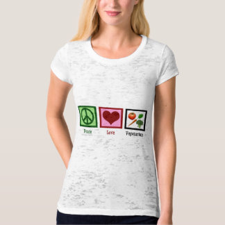 Peace Love Vegetarian T-Shirt