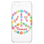 Peace Love Vermont Cover For iPhone 5C