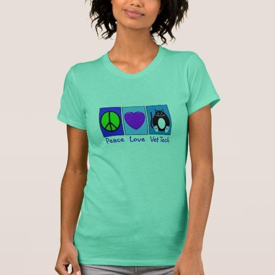 Peace Love Vet Tech T-Shirt