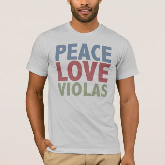 Peace Love Violas T-Shirt