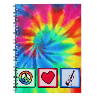 Peace, Love, Violins Journal