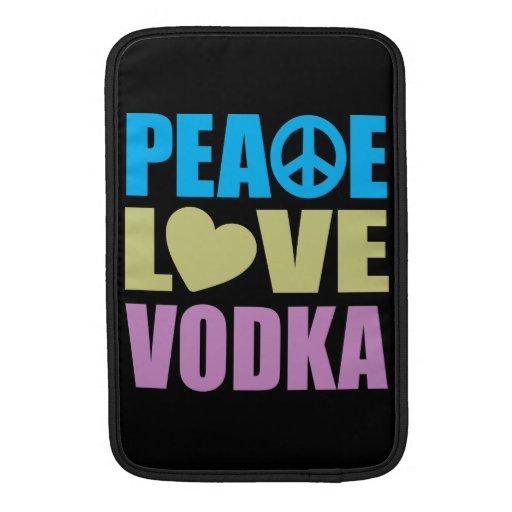 Peace Love Vodka Sleeves For MacBook Air