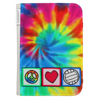 Peace, Love, Volleyball Kindle 3 Covers
