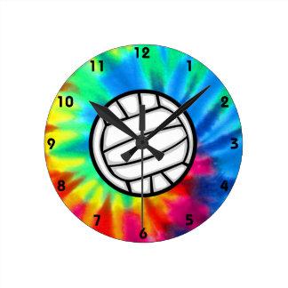 Peace, Love, Volleyball Clocks
