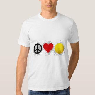 Peace Love Volleyball  Emblem 2 Shirt