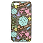 Peace, Love, Volleyball iPhone 5C Case