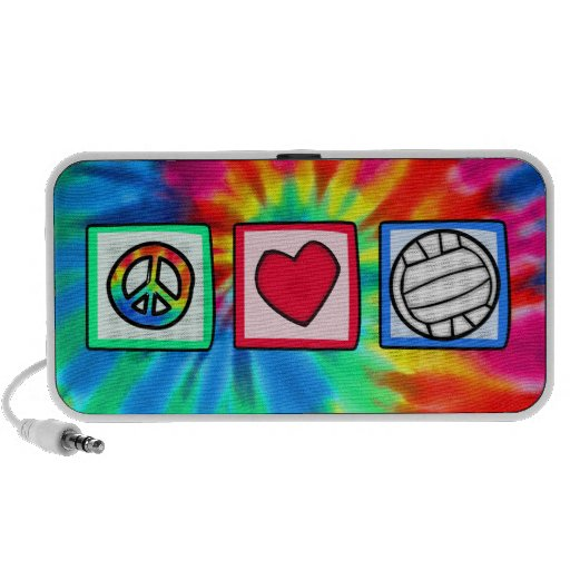 Peace, Love, Volleyball Speaker System