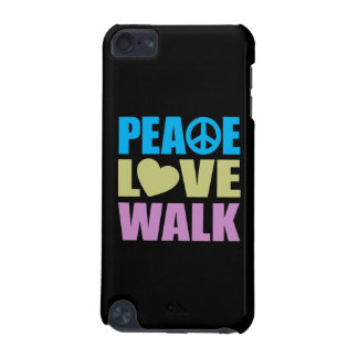 Peace Love Walk iPod Touch 5G Cases