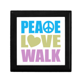 Peace Love Walk Trinket Boxes
