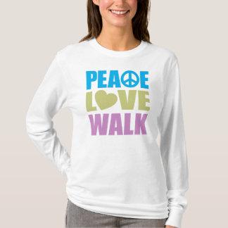 Peace Love Walk T-Shirt