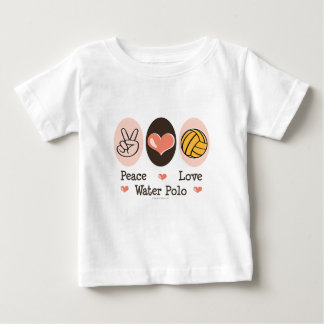 Peace Love Water Polo Infant T-shirt