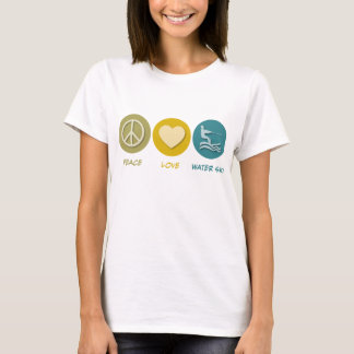 Peace Love Water Ski T-Shirt
