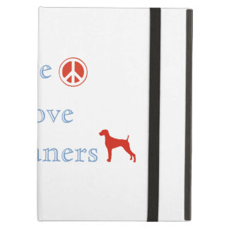 Peace Love Weimaraners Case For iPad Air