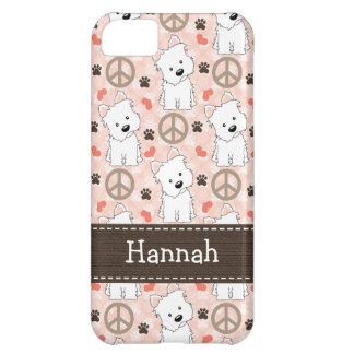 Peace Love Westies Case For iPhone 5C