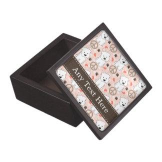Peace Love Westies Gift Box