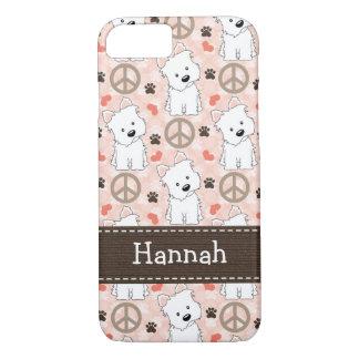 Peace Love Westies iPhone 7 Case
