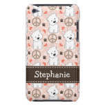 Peace Love Westies iPod Case-Mate Cases