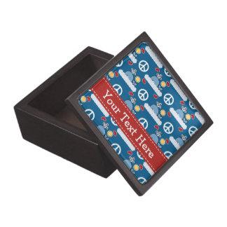 Peace Love Whales Gift Box Premium Keepsake Boxes