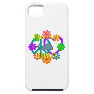 Peace Love Whales iPhone SE/5/5s Case
