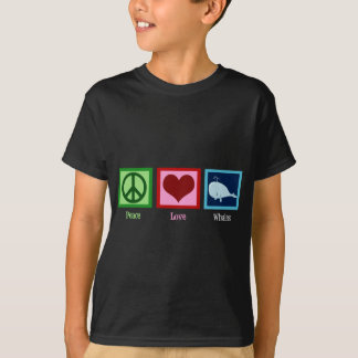 Peace Love Whales T-Shirt