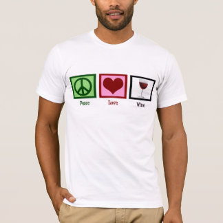 Peace Love Wine T-Shirt