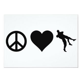 Peace Love Wrestling Card