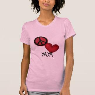 Peace Love YaYa Tee Shirt