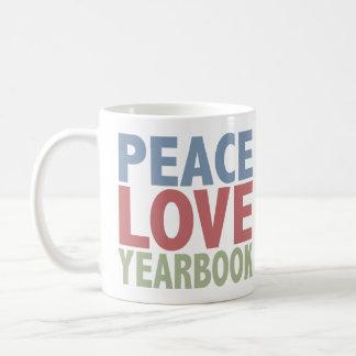 Peace Love Yearbook Coffee Mug