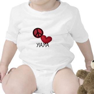 Peace Love YiaYia Creeper